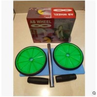 室内小型健身器材经典款AB双轮健腹轮健腹器户外体育用品运动器材