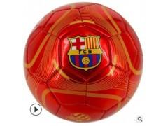 红色蓝色金色银色对标足球 中小学生训练比赛用球