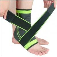 尼龙运动护踝防护男女运动四面弹力保暖透气型脚腕固定护脚踝护具