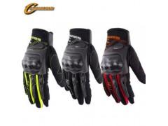 摩托车骑行赛车手套防滑防摔骑士保暖手套装备触屏机车全指手套
