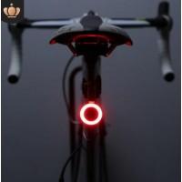 自行车尾灯usb充电山地车灯夜骑公路车骑行创意尾灯装备