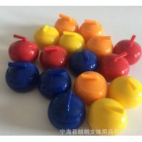 ABS迷你冰壶球沙狐球带钢珠桌面可滑动塑料球球厂家直销