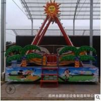海盗船游乐设备 厂家直销12座儿童海盗船 好玩的海盗船游乐设备