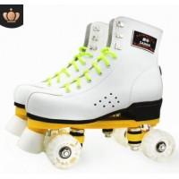 溜冰场专用成人双排溜冰鞋批发旱冰鞋四轮滑鞋全闪光速滑