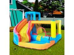 博士豚淘气堡室内外儿童充气城堡充气乐园 跳床滑梯组合游乐设备