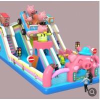广场大型儿童充气城堡跳跳床气包蹦蹦床滑梯户外游乐设备厂家直销