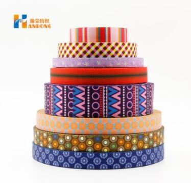 厂家热供多规格涤纶印花织带 耐磨印花织带