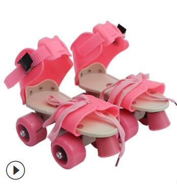厂家批发四轮溜冰鞋旱冰鞋儿童小孩子滑冰鞋双排轮滑鞋