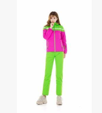 诗林集滑雪服男女款套装防水透气保暖