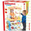 仿真收银台购物手推车雪糕冰淇淋冰激淋店制作甜品过家家玩具
