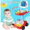 儿童玩具仿真玩具电动心电图医生打针医具过家家男女孩套装3岁