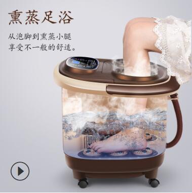 厂家直销全自动按摩足浴盆洗脚盆电动加热泡脚盆深桶洗脚