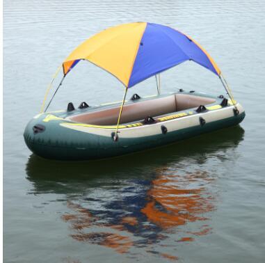 INTEX船用遮阳棚钓鱼帐船凉棚 海鹰充气船橡皮艇帐篷 挡雨防晒
