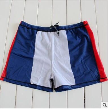 男士胖子泳裤批发 平角男式加大加肥游泳裤 高弹力肥佬泳裤
