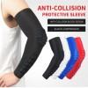 批发运动护臂透气防撞护手肘篮球羽毛球足球登山骑行护腕袖套护具