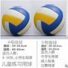 厂家直销批发定制签名排球PU4号5号成人中考儿童充气软式沙滩排球