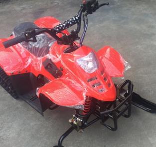 厂家直销雪橇板式冰车成人滑雪车履带式雪橇车雪地摩托车