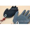 新品钓鱼抓鱼防刺防扎防滑手套 PE浸胶手套户外垂钓用品半掌手套