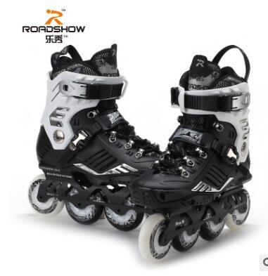 专业乐秀RX5轮滑鞋成人溜冰鞋成年旱冰鞋男女平花鞋直排轮初学者