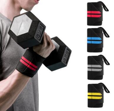 厂家健身护腕男绷带训练防扭伤运动助力带手腕带护具装备手套卧推