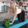 健腹轮 家用 静音 简易双轮 三轮腹肌轮 健身器材 体育用品