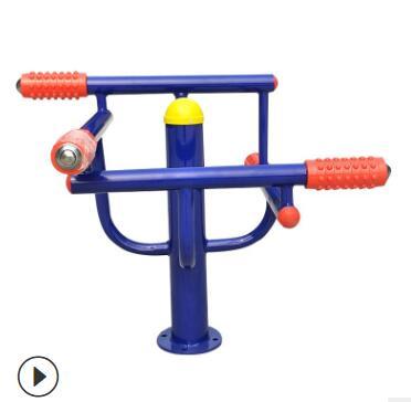 运动户外健身器材 室外小区广场健身路径压腿器材