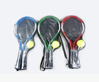 21寸儿童网球拍3--8岁儿童网球拍幼儿园亲子活动球拍2只装送球