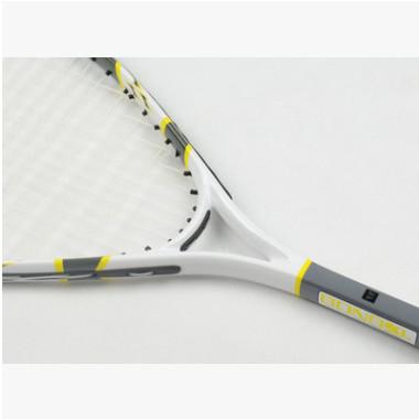 壁球拍铝碳纤维复合一体轻初学者训练带线拍套