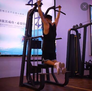 工厂直销健身房器材助力引体向上单双杠训练器室内综合型力量器械