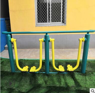 厂家直销批发小区健身器材双人太空漫步机室外广场体育器材