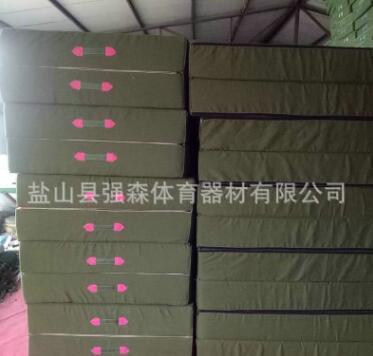 厂家供应跆拳道体海绵育垫子 折叠体操垫 拳击训练海绵垫