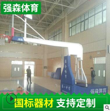 室外标准篮球架电动液压篮球架可移动篮球架体育器材架成人篮球架