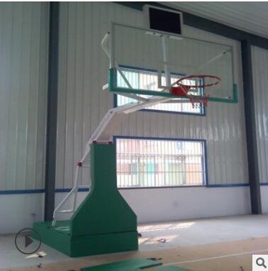 厂家生产户外手动液压篮球架 成人比赛篮球架 室内运动场篮球架