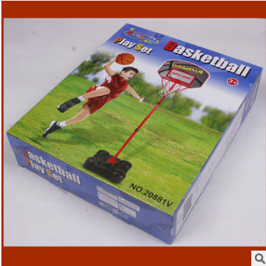 盛盈儿童篮球架玩具宝宝可升降投篮体育玩具室内户外亲子休闲运动