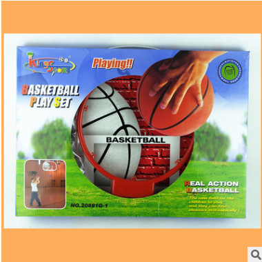 盛盈儿童篮球架体育用品玩具宝宝室内户外挂式篮球板投篮运动玩具