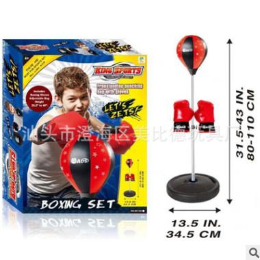 儿童室内体育运动玩具 拳击套装组合拳击速度球 健身儿童玩具