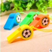 体育用品塑料口哨儿童玩具彩色助威加油裁判哨子球迷厂家直销批发