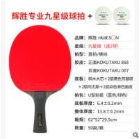 辉胜专业九星乒乓球拍专业训练比赛九星级乒乓球拍单支装乒乓球拍