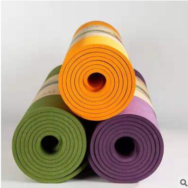 6mm微瑕疵二等品单色TPE瑜伽垫环保无味防滑运动健身垫可定制LOGO