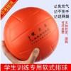 厂家批发软排球免充气pu软排 健力奥软式排球 4号5号软式排球软排