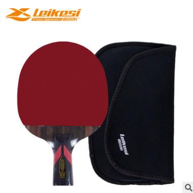 雷克斯LKS2562/6单支长短碳木6星双反胶学生成人比赛训练乒乓球拍