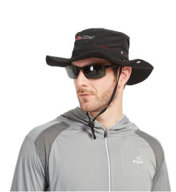 风猎者渔夫帽子男士遮阳帽户外防晒钓鱼帽薄款透气防紫外线太阳帽