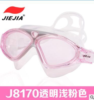 捷佳游泳镜 大框 成人泳镜 J8170游泳眼镜 现货批发防水防雾眼镜
