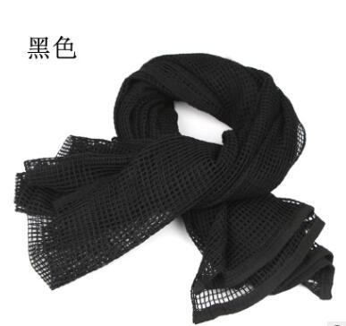 阿拉伯方巾多用迷彩户外伪装网巾 纯棉厚款编织遮阳围巾 多色可选