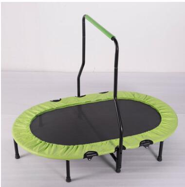 带扶手双人蹦蹦床儿童室内家用可折叠弹簧宝宝跳跳床小孩弹跳