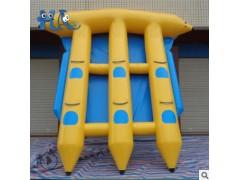 广州气模大型充气玩具香蕉船飞鱼 魔鬼鱼跷跷板陀螺滑水器冲浪