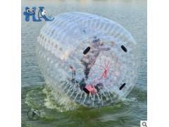 水上滚筒充气水上乐园大型游艺设施雪地优波球游泳设备quwe碰撞球