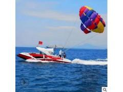 拖伞船降落伞艇飞行器高空户外跳伞游艇快艇豪华双层大型漂移艇厂