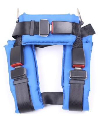 批发户外儿童蹦极跳床配件 全身式安全带 儿童五点式蹦床安全带
