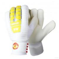 足球守门员龙门门将手套 加厚乳胶耐磨减少冲击力防滑 带护指